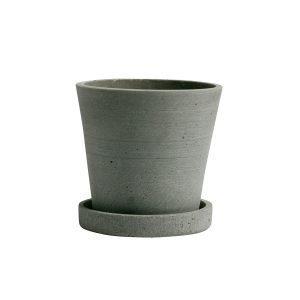 Hay Flowerpot Ruukku Ja Lautanen S Vihreä