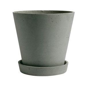 Hay Flowerpot Ruukku Ja Lautanen Xl Vihreä