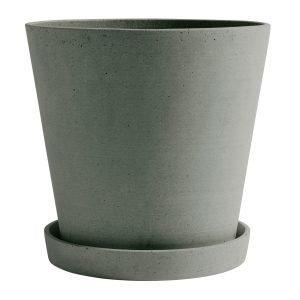 Hay Flowerpot Ruukku Ja Lautanen Xxl Vihreä