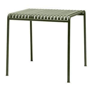 Hay Palissade Pöytä Oliivinvihreä 80x80 Cm