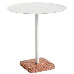 Hay Terrazzo Pöytä Vaaleanharmaa Punainen 70 Cm