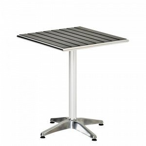 Hillerstorp Alunda Pöytä Musta 70x70 Cm