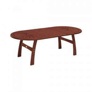 Hillerstorp Amelia Pöytä 110x170 (230 / Ruskea 290) Cm