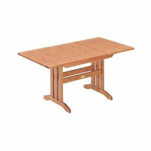 Hillerstorp Amelia Pöytä 80x104 / Ruskea 150 Cm