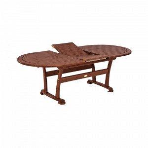 Hillerstorp Amelia Pöytä Ruskea 110x180 Cm