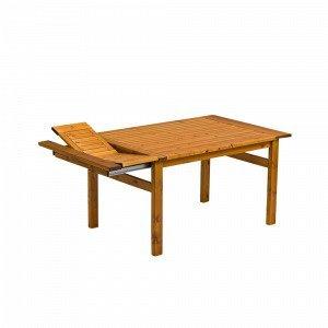Hillerstorp Amelia Pöytä Ruskea 90x170 Cm