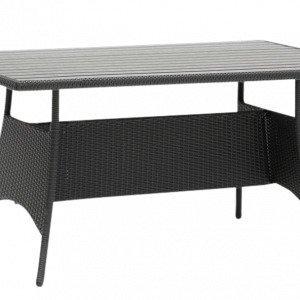 Hillerstorp Atlanta Pöytä Musta 90x150 Cm