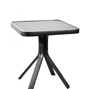 Hillerstorp Baden Pikkupöytä Musta 45x45 Cm