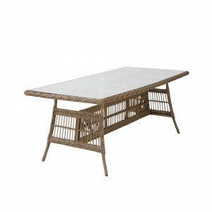 Hillerstorp Coriano Pöytä Luonnonvärinen 90x190 Cm