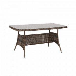 Hillerstorp Hampton Pöytä Luonnonvärinen 80x150 Cm