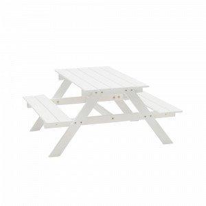 Hillerstorp Mini Piknikpöytä Valkoinen