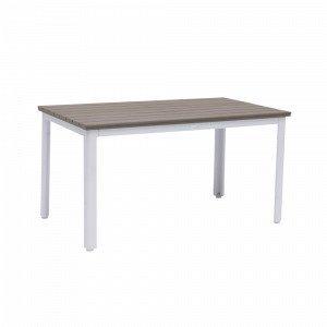 Hillerstorp Nydala Pöytä Valkoinen 80x140 Cm