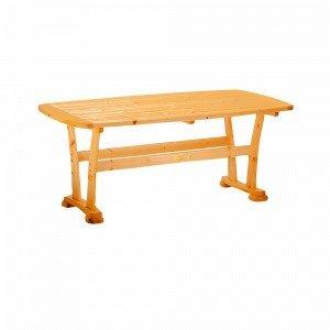 Hillerstorp Pöytä Ruskea 90x165 Cm