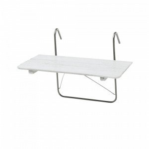 Hillerstorp Parvekepöytä Valkoinen 50x80 Cm