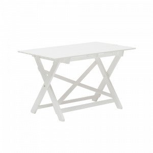 Hillerstorp Torpet Pöytä Valkoinen 68x110 Cm