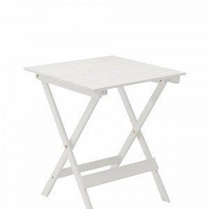 Hillerstorp Vaxholm Pöytä Valkoinen 63x63 Cm