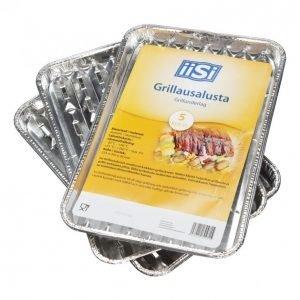 Iisi Grillausalusta 5kpl Alumiini