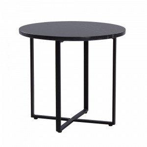 Jotex Maribo Pikkupöytä Musta Ø 45 Cm