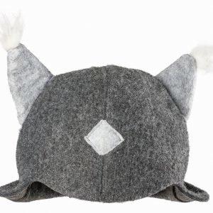 Kirami Lynx Tuft Gray Kylpyhattu