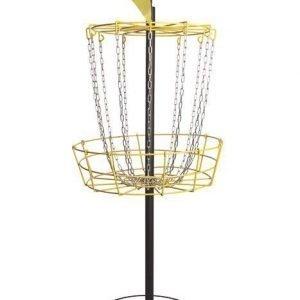 Kokoontaittuva Frisbeegolf-kori