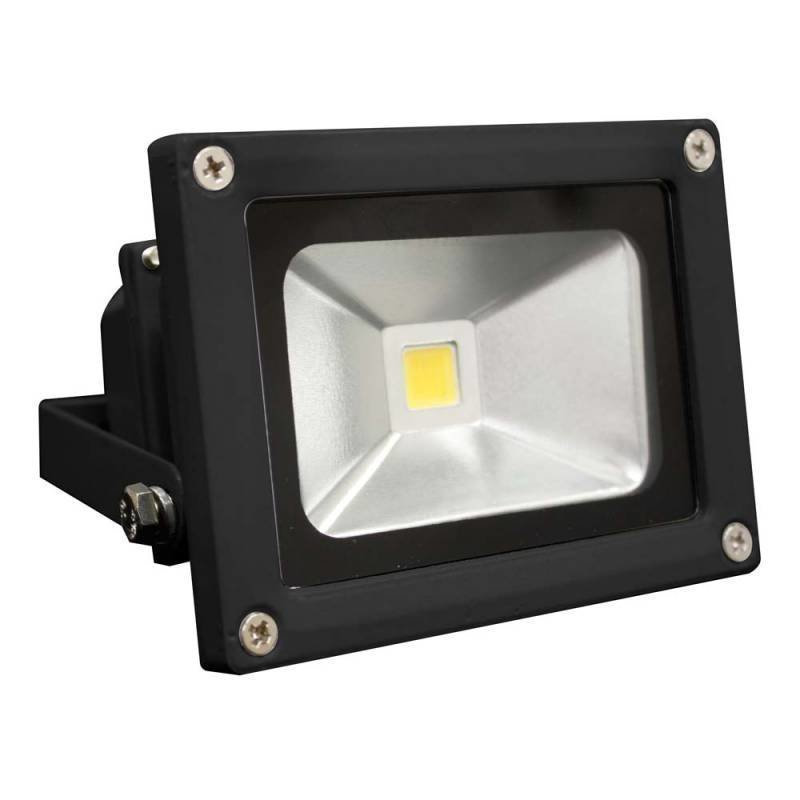 LED valonheitin 230V WORK BLACK 10W 4500K