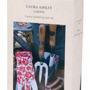 Laura Ashley 4-Osainen Puutarhavälinesetti