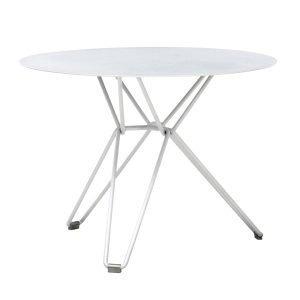 Massproductions Tio Pöytä Pieni Valkoinen