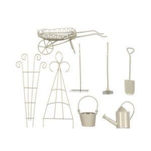 Mica Miniature Garden Puutarhatyövälinesomistesetti