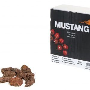 Mustang 3 Kg Laavakivet