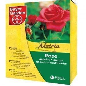 Natria 1 Kg Orgaaninen Ruusulannoite