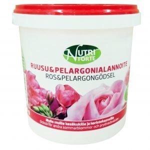 Nutriforte 900 G Ruusu- Ja Pelargonialannoite
