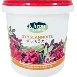 Nutriforte 900 G Syyslannoite