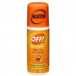 Off Active Roll-On Hyönteiskarkote 60 Ml