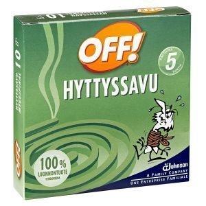 Off! Hyttyssavu 10 Kpl
