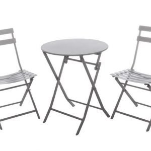 Parvekesetti Helga 2 tuolia ja pöytä