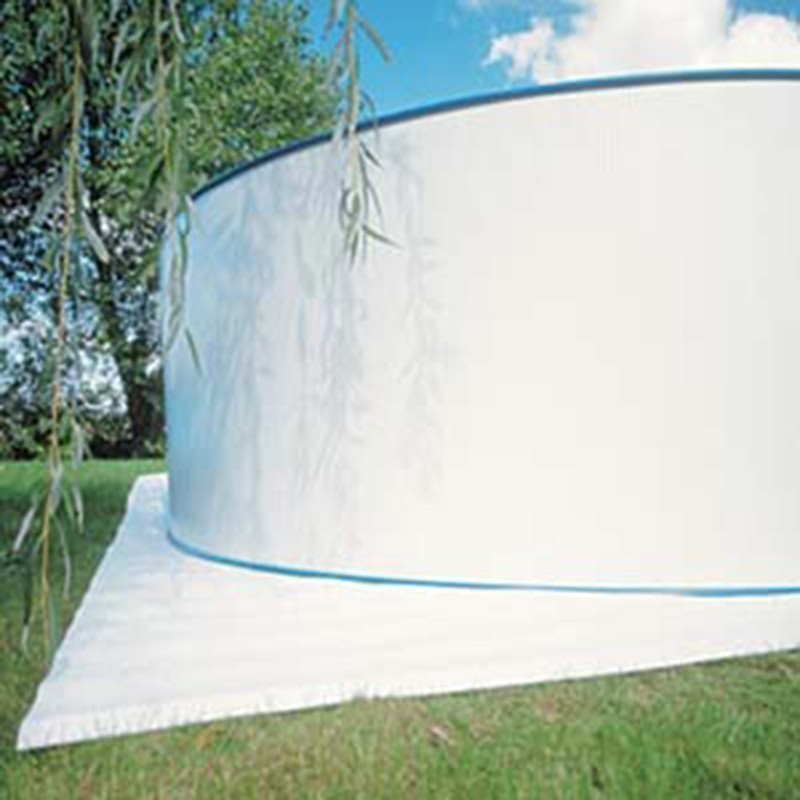 Pohjasuojamatto Ø360cm Valkoinen