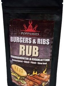 Poppamies Burger & Ribs RUB