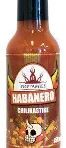 Poppamies Habanero Chilikastike