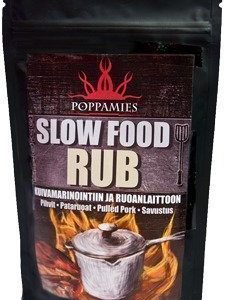 Poppamies Slow Food RUB