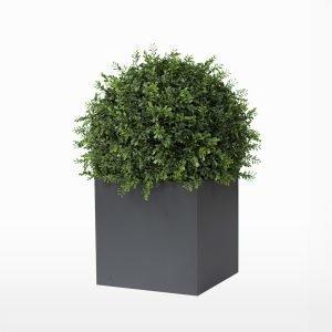 Röshults Linné Alumiiniruukku Antrasiitti 50x50x50 Cm