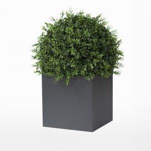 Röshults Linné Alumiiniruukku Antrasiitti 60x60x60 Cm
