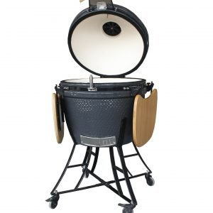Rebel Kamado Grill Xl Grey Hiiligrilli