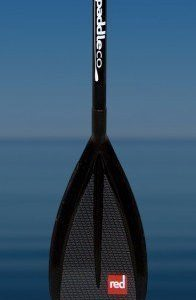 Red Alloy Vario Travel Paddle