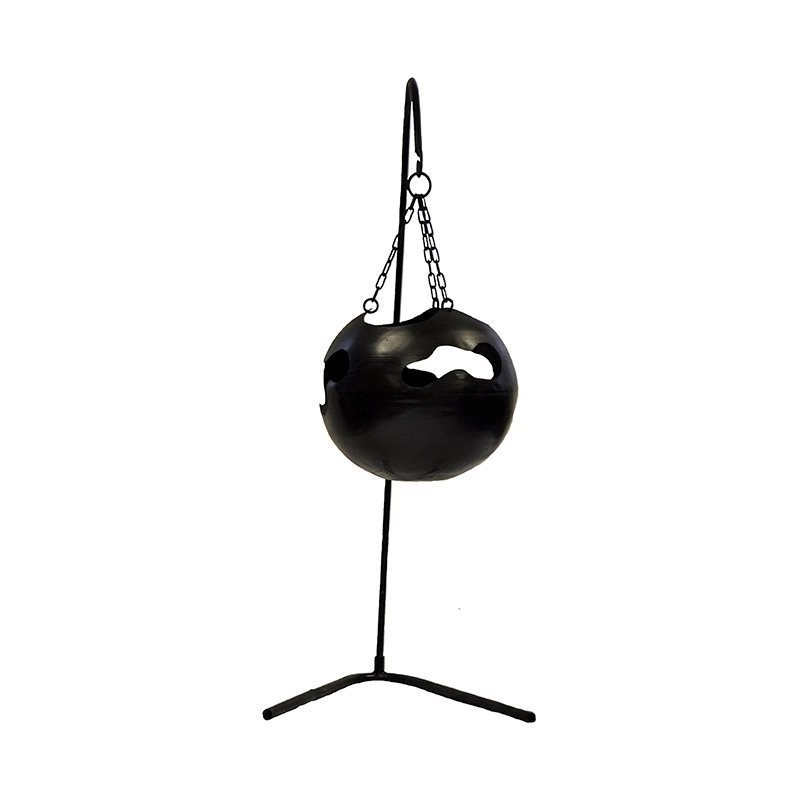 Redfire Hanging Firebowl with Holes With stand Tulisija Musta