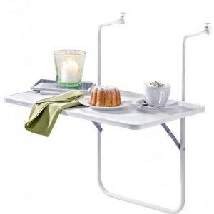 Ripustettava Parvekepöytä Valkoinen