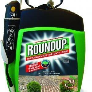 Roundup Piha 5 L Pumppukanisteri