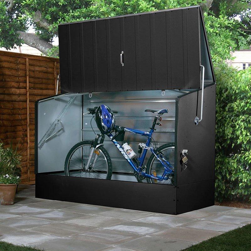 Säilytyslaatikko GOP Bicycle store Harmaa