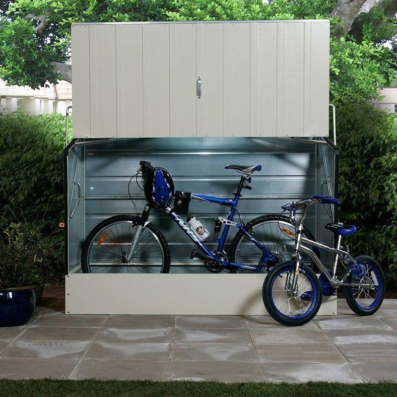 Säilytyslaatikko GOP Bicycle store Valkoinen