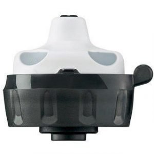 SIGG Korkki Active Bottle Top musta/valkoinen