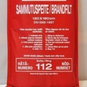 Sammutuspeite 180x120 cm